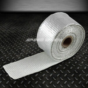 15ft 180 l 2 w Header manifold exhaust Turbo Down Piping Aluminum Heat Wrap Tape