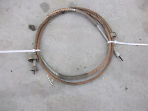 1948 Pontiac Silverstreak Speedometer Cable Oem Series 26 Fastback 48 Odometer