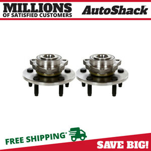 Front Pair 2 Wheel Hub Bearing Assemblies 5 Stud Fits 02 07 2008 Dodge Ram 1500