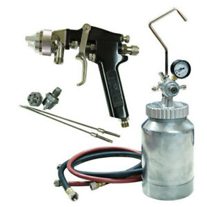 Atd 2 Qt Pressure Pot With Spray Gun 1 2 1 5 1 8 Mm Nozzles 16843