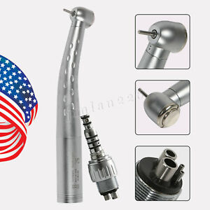 Us Yabangbang Dental Slow Low Speed Handpiece 4hole Air Motor Contra Angle Nose