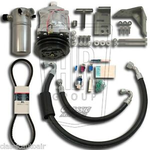 81 88 G Body Chevy Sb V8 A C Compressor Upgrade Kit Ac Air Conditioning Stage 1