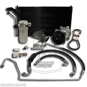 81 88 G Body Chevy Sb V8 Air Conditioning Upgrade Kit A C Ac 134a Stage 2