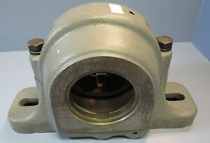 Link Belt Split Pillow Block Bearing Cast Iron 3 3 16 Housing Model Plb6851r3
