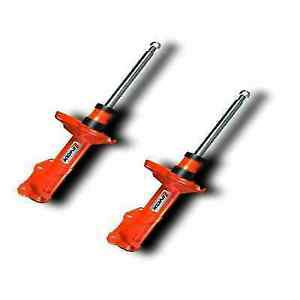 Koni 8050 1011 Front Set Of Orange Str T Shocks For Honda Civic Sedan Hatchback