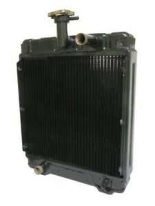 1990 0010 000 New Radiator Made For Satoh Mitsubishi S650g Bison Compact Tractor