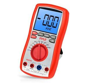 New Pdmt38 Digital Lcd Ac Resistance Multimeter W rubber Case Stand