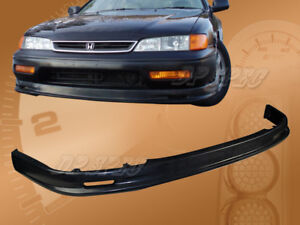 For 94 95 Honda Accord T M Poly Urethane Pu Front Bumper Lip Spoiler Body Kit
