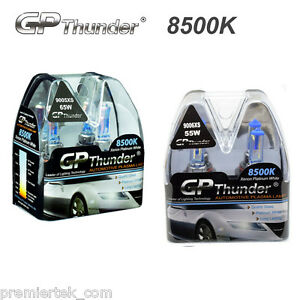 Gp Thunder 8500k 9005xs 9006xs Xenon Halogen Light Bulbs High Low Beam 2 Pairs
