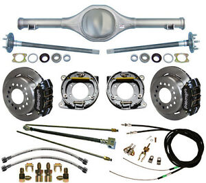 Currie 82 97 S 10 Blazer Rear End Wilwood Disc Brakes Lines E Cables Axles