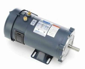 1 Hp 1800 Rpm 56c Frame 24 Volts Dc Tefc Leeson Electric Motor 108053