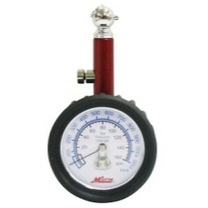 Milton S 933 Dial Tire Gauge 0 160 Psi 5 Lb Increments