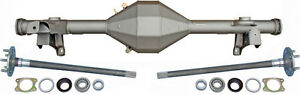New Currie 82 92 F body Rear End W Torino Flanged Axles camaro Firebird 9 Ford