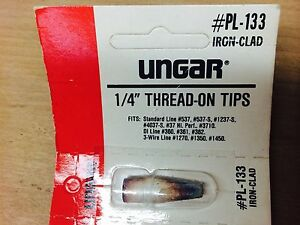 1 4 Thread on Tips Iron Clad Ungar pl 133 nn0621 11