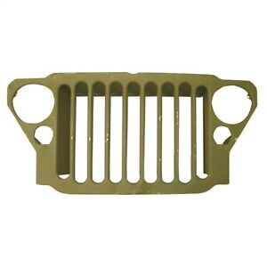 Grille For Jeep Willys Mb Ford Gpw 1941 1945 Stamped 9 Slats 12021 99 Omix ada