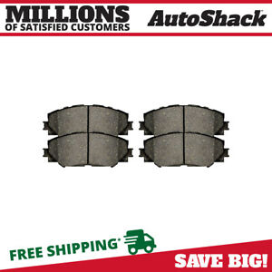 Front Metallic Brake Pads For 2006 2018 Toyota Rav4 2009 2015 2017 2019 Corolla