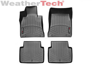 Weathertech Floor Mats Floorliner For Hyundai Genesis G80 2015 2019 Black
