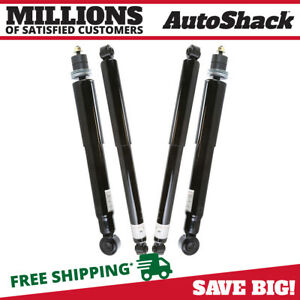Front Rear Set 4 Shock Absorber For 2001 2009 2010 Chevrolet Silverado 2500 Hd