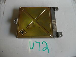 10 2010 Honda Accord Ex At Computer Brain Engine Control Ecu Ecm Module U72