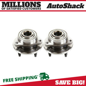 Front Pair 2 Wheel Hub Bearing Assemblies 4 Stud Fits 2005 2010 Chevrolet Cobalt