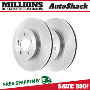 Front Brake Rotors Pair 2 Fits 06 2016 2017 Toyota Rav4 2007 2011 Camry 980470
