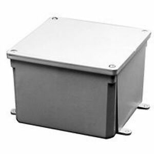 New Carlon E989r 12x12x6 Pvc Electrical Junction Box Cover 1113406
