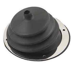 Mr Gasket 1651 Round Small Shifter Boot 5 1 2 Inch Diameter