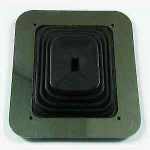 Mr Gasket 1652 Large Square Shifter Boot 6 1 2 X 5 1 4