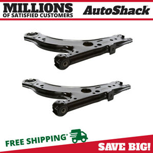 2pc Front Lower Control Arm Suspension Pair Set For 1998 2010 Volkswagen Beetle
