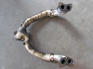 2003 Subaru Forester Exhaust Down Pipe U Pipe Manifold See Pics