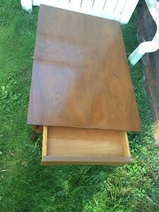 Antique Very End Table With Single Drawer 1940 1950