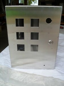 Stainless Steel Electrical Hinged Enclosure Box Panel 16 X 12 X 9 By Delta