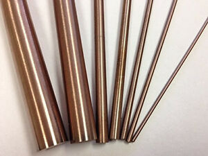 Copper Tungsten Round Rod 7 16 d x8 l Rwma Cl 10 W70 30 Alloy