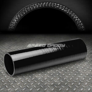 4 Ply 3 Id 12 Long Turbo Air Intake Intercooler Piping Black Silicone Hose Pipe