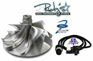 Wicked Wheel 2 Billet Turbo Wheel Ts Performance Chip Ford Diesel 7 3l 95 03