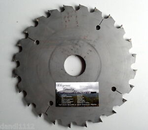 Dado Sawmill 10 Saw Blade 1 3 4 Arbor For Industrial Sb12