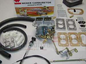 Weber Carburetor Kit Jeep Wrangler Cj7 4 2l 258 Fits 1978 1990 W carter 2bbl