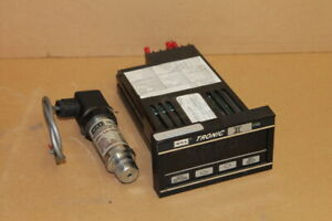 Vacuum Transmitter W controller 30 0inhg Wika Tronic Lfe Ce 0431