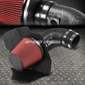 For 09 15 Cts V V8 6 2l Lsa Wrinkle Finish Air Intake Aluminum Pipe Heat Shield