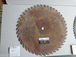 Sawmill Saw Blade 17 1 2 W 1 Arbor For Industrial Sb17
