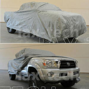 2001 2002 2003 Gmc Sierra 2500hd Ext Cab 8ft Long Bed Breathable Truck Cover