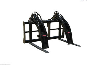 Cat Logging Forks By Bradco fits Cat It Quick Hitch 48 Long 10 000 Lb Capacity