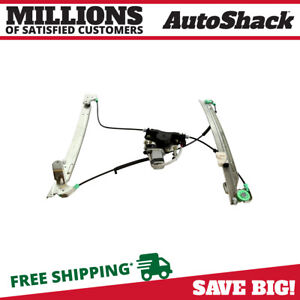 Front Driver Power Window Regulator With Motor For 2001 2003 Dodge Grand Caravan