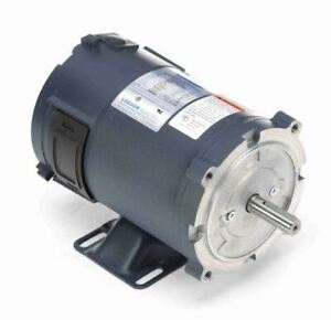 1 3 Hp 1800 Rpm 56c Frame 24 Volts Dc Tenv Leeson Electric Motor 108050