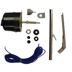 Wiper Motor Kit 12v For Jeep Willys Cj3b Cj5 Cj6 Universal 19101 02 Omix Ada