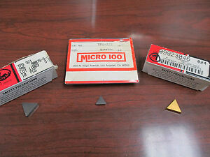New Tpg 222 Micro100 Tpg 321 Tpu 322 Vr Wesson Inserts