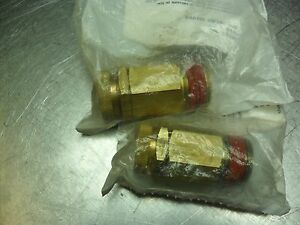 Qty 2 Brass Vacuum Relief Valve Vr75 100 3 4 In Sealed Bag Usa Seller
