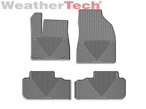 Weathertech All weather Floor Mats For Toyota Highlander 2014 2015 Grey