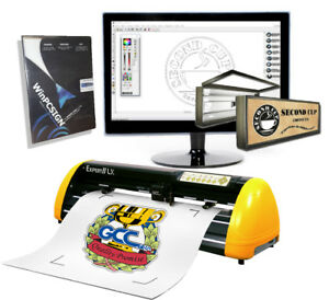 Best Vinyl Cutter Gcc Expert Lx Contour Cut pro Software