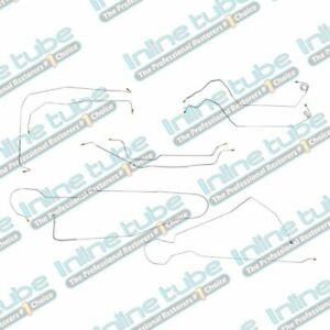 1973 80 Chevrolet Gmc Long Bed K20 K25 4wd Complete Brake Line Set Kit Stainless
